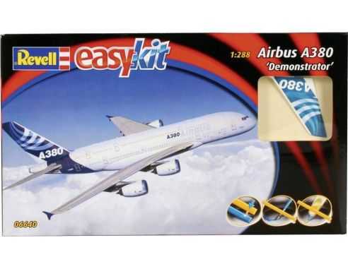 Revell 6640 AIRBUS A 380 DEMONSTRATOR KIT 1:288 Modellino