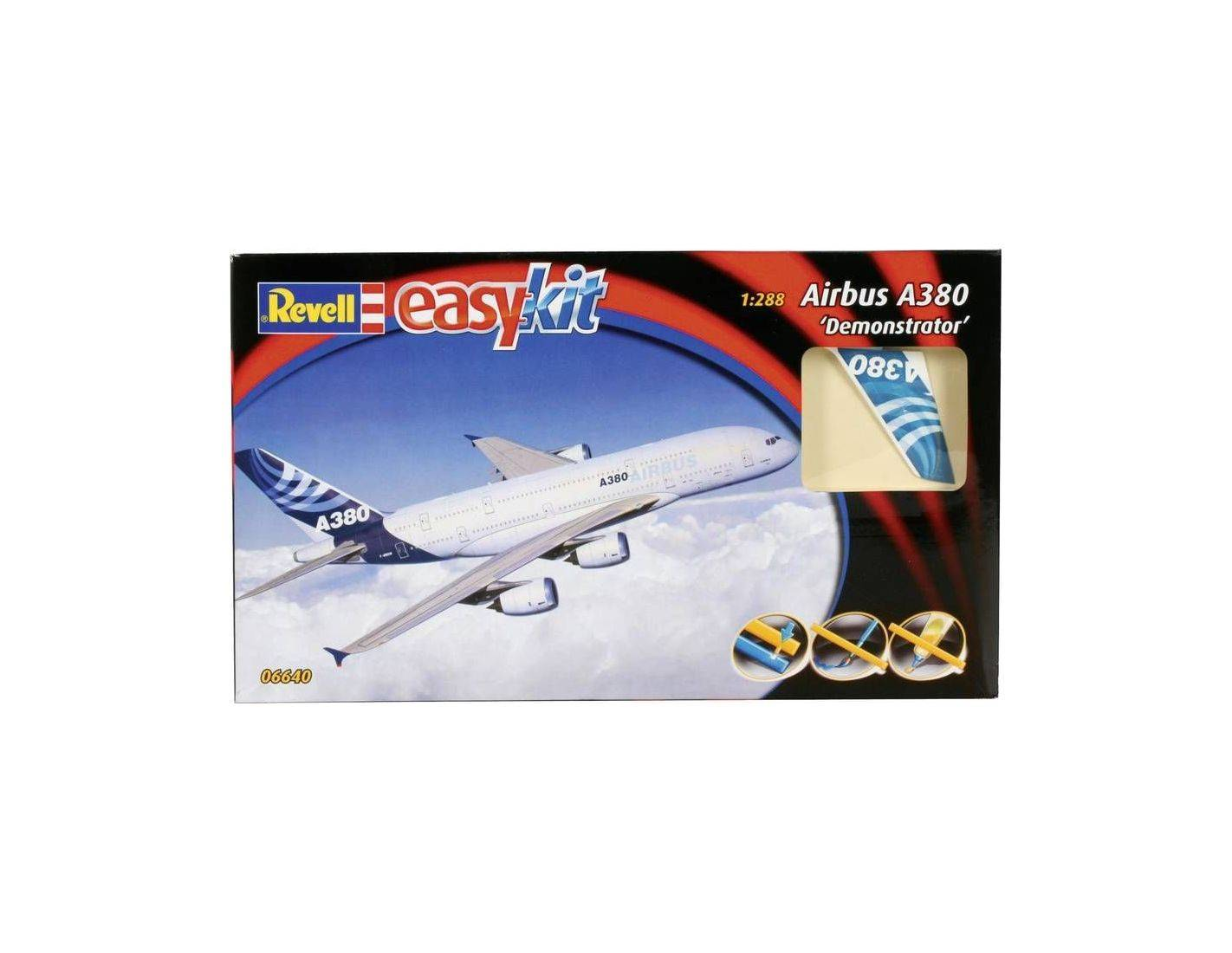 Revell 6640 AIRBUS A 380 DEMONSTRATOR KIT 1:288 Modellino
