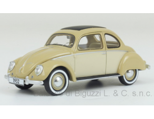 Neo Scale Models NEO47055 VW STOLL COUPE' 1952 BEIGE 1:43 Modellino
