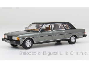 Neo Scale Models NEO47080 PEUGEOT 604 LONG VERSION LIMOUSINE GREY 1981 1:43 Modellino