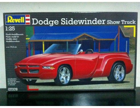 Revell 07378 DODGE SIDEWINDER SHOW TRUCK 1:25 Kit Modellino