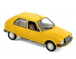 Norev NV150940 CITROEN VISA CLUB 1979 MIMOSA YELLOW 1:43 Modellino