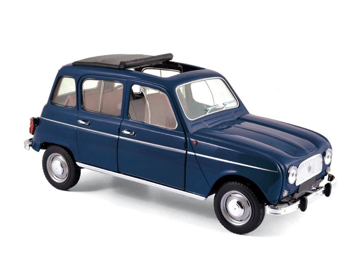 norev nv185241 renault 4 1965 copenhague blue 1 18 modellino. Black Bedroom Furniture Sets. Home Design Ideas