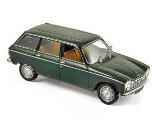 Norev NV472450 PEUGEOT 204 BREAK 1969 ANTIQUE GREEN 1:43 Modellino