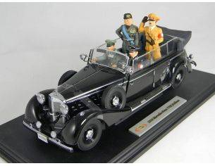 Miniminiera SIGN18135 MERCEDES 770K + 4 PERSONAGGI 1/18 Modellino