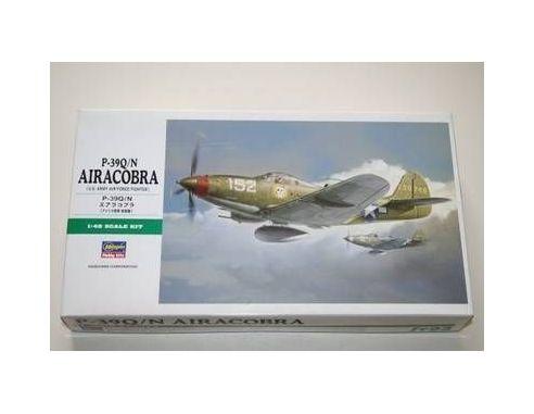 HASEGAWA 09093 BELL P-39Q/N AIRACOBRA P-39Q/N 1:48 Kit Modellino