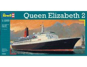 Revell 05806 QUEEN ELIZABETH 2 1:1200 Kit Nave Modellino