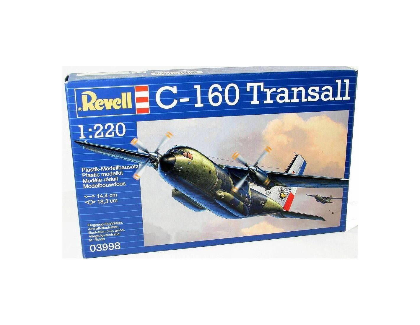 Revell 03998 C-160 TRANSALL 1:220 Kit Modellino