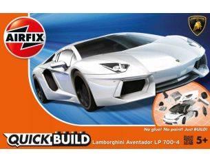 Airfix AX6019 QUICK BUILD LAMBORGHINI AVENTADOR WHITE Modellino