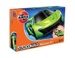Airfix AX6021 QUICK BUILD MC LAREN P1 GREEN Modellino
