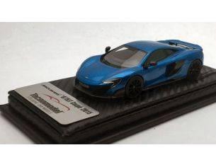 Tecnomodel TMD43EX01E MCLAREN 675 LT CERULEAN BLUE 2016 1:43 Modellino