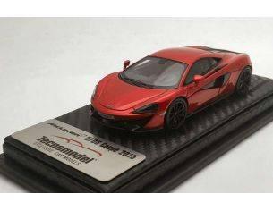 Tecnomodel TMD43EX02C MCLAREN 570S VERMILLION RED SHANGAI NEW YORK AUTOSHOW 2015 1:43 Modellino