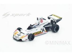 Spark Model S4784 BRABHAM BT42 TEDDY PILETTE 1974 N.34 17th BELGIAN GP 1:43 Modellino