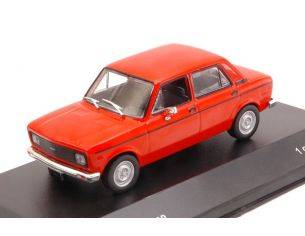 White Box WB251 FIAT 128 EUROPE 1978 LIGHT RED 1:43 Modellino