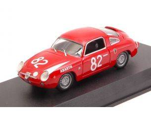 Best Model BT9669 FIAT ABARTH 850 ZAGATO N.82 WINNER 500 KM NURBURGRING 1960 1:43 Modellino