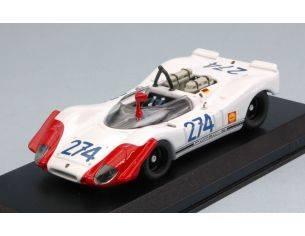 Best Model BT9670 PORSCHE 908-02 N.274 3rd T.FLORIO 1969 STOMMELEN-HERRMANN 1:43 Modellino