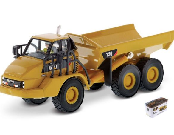 Diecast Master DM85130 CAT 730 ARTICULATED TRUCK 1:87 Modellino