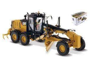 Diecast Master DM85519 CAT 12M3 MOTOR GRADER 1:50 Modellino