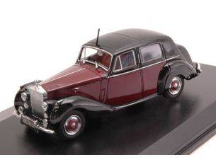 Oxford OXF43RSD001 ROLLS ROYCE SILVER DAWN DARK RED/BLACK 1:43 Modellino