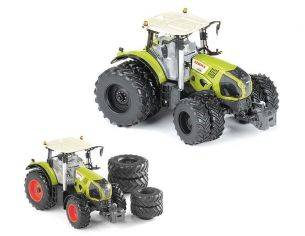 Ros RS30158 TRATTORE CLAAS AXION 870 WITH DOUBLE WHEELS 1:32 Modellino