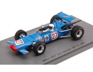 Spark Model S4291 MATRA MS7 J.SERVOZ-GAVIN 1969 N.27 F2 GERMAN GP 1:43 Modellino
