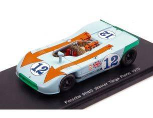 Spark Model S43TF70 PORSCHE 908/3 N.12 WINNER TARGA FLORIO 1970 J.SIFFERT-B.REDMAN 1:43 Modellino