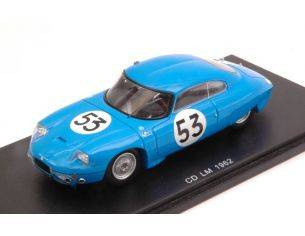 Spark Model S4710 CD PANHARD N.53 16th LM 1962 A.GUILHAUDIN-A.BERTAUT 1:43 Modellino