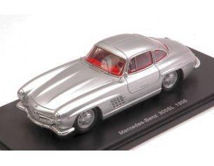 Spark Model S4958 MERCEDES 300SL 1956 SILVER 1:43 Modellino