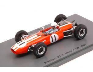 Spark Model S5253 BRABHAM BT11 FRANK GARDNER 1965 N.11 RETIRED MONACO GP 1:43 Modellino