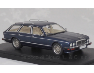 Neo Scale Models NEO47040 JAGUAR XJ40 SHOOTING BRAKE 1989 MET.DARK BLUE 1:43 Modellino