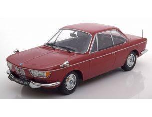 KK Scale KKDC180122 BMW 2000 CS 1965 DARK RED LIM.1000 PCS 1:18 Modellino