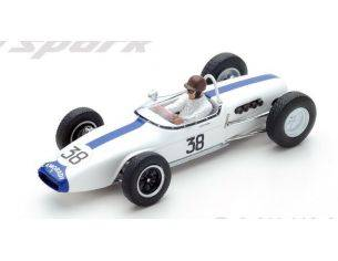 Spark Model S5343 LOTUS 18 IAN BURGESS 1961 N.38 14th FRENCH GP 1:43 Modellino