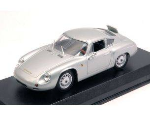Best Model BT9673 PORSCHE 356 B CARRERA GTL ABARTH 1960 PROVA SILVER 1:43 Modellino