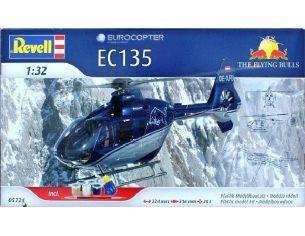 Revell 05724 EUROCAPTER EC135 RED BULL SET 1:32 Modellino