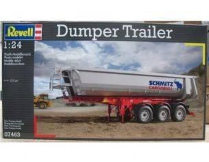 REVELL 07463 DUMPER TRAILER 1 :24 KIT Modellino