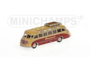 MINICHAMPS 169030080 BUS SETRA S8 1953 HANSEAT Modellino