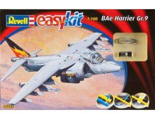 REVELL 06645 BAE HARRIER 1:100 KIT  Modellino
