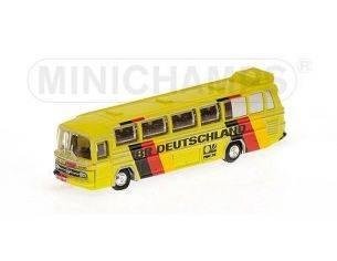 Minichamps PM169035180 MERCEDES BUS O302 MONDIALI CALCIO 1974 BR 1:160 Modellino