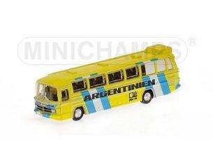 MINICHAMPS 169035185 BUS MERCEDES BENZ O302 1974 NAZIONALE ARGENTINA Modellino