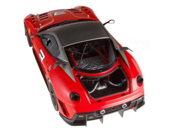 HOTWHEELS ELITE T6251 FERRARI 599 XX  VERSIONE CLIENTI N3 2009 1:18 Modellino