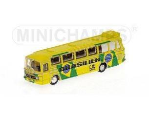 Minichamps PM169035186 MERCEDES O 302 BUS 1974 NAZIONALE BRASILE 1:160 Modellino