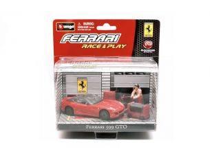 Bburago BU31100599GTO FERRARI 599 GTO RED IN BLISTER CON ACCESSORI 1:43 Modellino