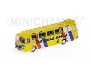 MINICHAMPS 169035188 BUS MERCEDES BENZ O302 NAZIONALE NIEDERLANDE 1974 Modellino