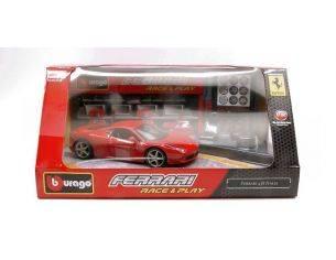 Bburago BU44020F458R FERRARI 458 ITALIA RED IN SCAT.C/ACCESSORI 1:32 Modellino