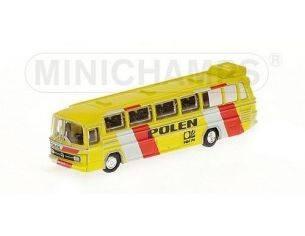 Minichamps PM169035189 MERCEDES BUS O321H 1974 NAZIONALE POLACCA 1:160 Modellino