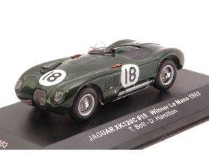 Ixo model LM1953 JAGUAR XK 120 C N.18 WINNER LM 1953 BOLT/HAMILTON RE-EDITION 1:43 Modellino