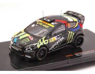 Ixo model RAM618 FORD FIESTA RS WRC N.46 WINNER RALLY MONZA 2012 ROSSI-CASSINA 1:43 Modellino