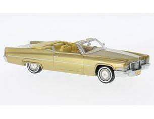 Neo Scale Models NEO47145 CADILLAC DE VILLE CONVERTIBLE GOLD 1970 1:43 Modellino