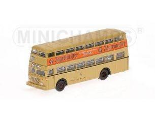 MINICHAMPS 169071080 BUSSING D2U DOPPELDECKBUS 1957 JAGERMEISTER Modellino