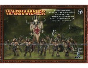 Games Workshop Warhammer 81-08 BRANCO DI UOMINI BESTIA GOR Personaggi Citadel
